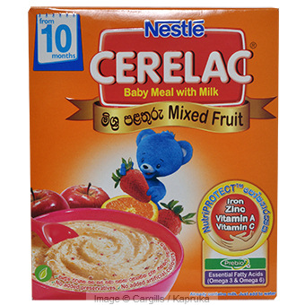 CERELAC MIXED FRUIT - 250GR Online at Kapruka | Product# FC_BP10436