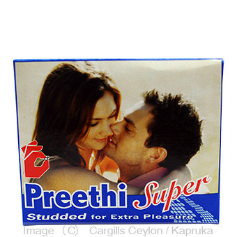 PREETHI SUPER CONDOMS 3`S - PACKETS Online at Kapruka | Product# FC_DT90303