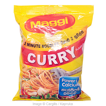 MAGGI INS.NOODLES CURRY - 78G Online at Kapruka | Product# FC_PS10111