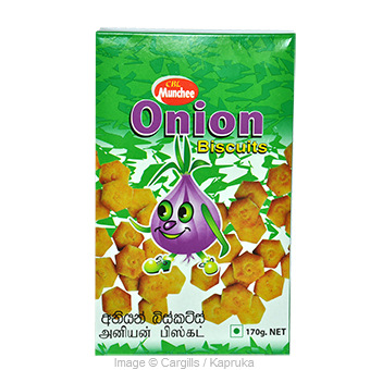 MUNCHEE ONION BISCUITS - 170 GR Online at Kapruka | Product# FC_SC10767