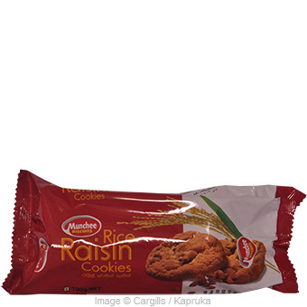 MUNCHEE RICE RAISIN COOKI - 100 GR Online at Kapruka | Product# FC_SC10771