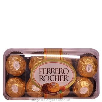 FERRERO ROCHER CHOCOLATE - 200GR Online at Kapruka | Product# FC_SC37812