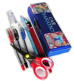 Pens And Pencils Kit With A Container Online at Kapruka | Product# childrenP008