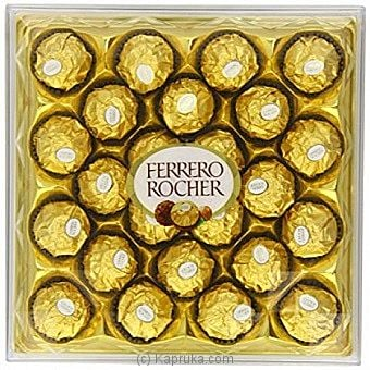 Ferrero Rocher - 24 Pieces Box - 300g Online at Kapruka | Product# chocolates002