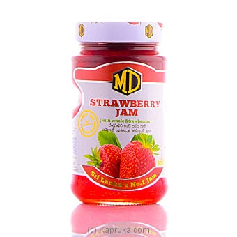 MD Strawberry Jam Bottle - 485g Online at Kapruka | Product# grocery00121