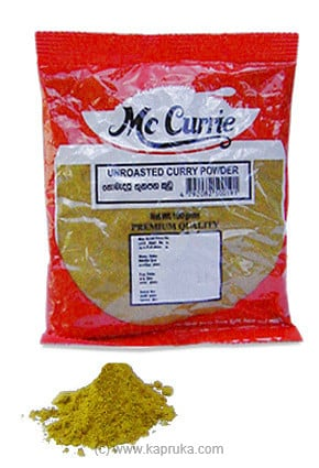 Mc Currie Unroasted Curry Powder Pkt - 100g Online at Kapruka | Product# grocery0032