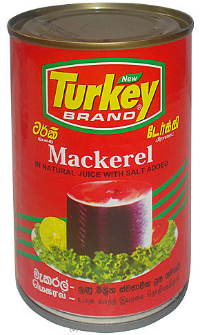 Turkey Mackerel Tin Fish - 425g - Kapruka Product grocery0068