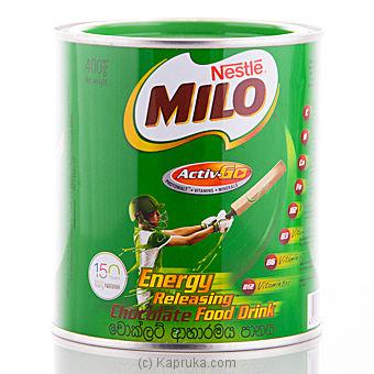 Milo Tin 400 G Online at Kapruka | Product# grocery0213
