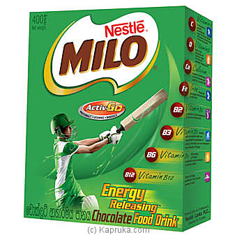 Nestle Milo Chocolate Food Drink Pkt- 400g Online at Kapruka | Product# grocery0291
