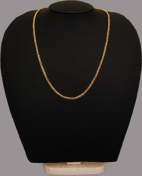 Gold Necklace - Kapruka Product jewelleryF116