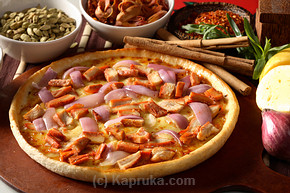 Tandoori Chicken Pan Pizza - Large at Kapruka Online