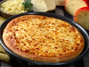 Cheese Lovers Pan Pizza - Large at Kapruka Online