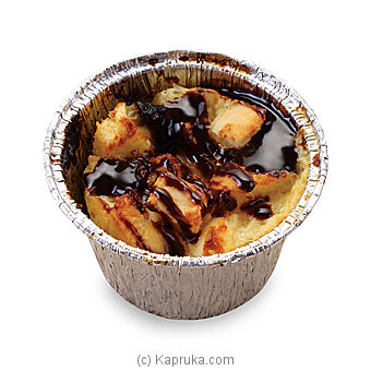 Bread Pudding with Chocolate Sauce at Kapruka Online