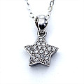 18k White Gold Pendent Set (ALP 1526) at Kapruka Online