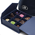 Hilton Chocolate Blue Box - 9pcs at Kapruka Online for specialGifts