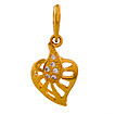22kt Gold Pendant With Zercones at Kapruka Online for specialGifts