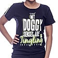 Embark Ladies T/S My Doggy Senses - Black at Kapruka Online for specialGifts