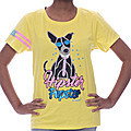 Embark Ladies T/S Hipster Pup - Yellow at Kapruka Online for specialGifts