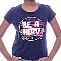Embark Girls T/S Be A Hero - Navy at Kapruka Online for specialGifts