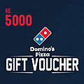 Dominos Gift Voucher- Rs 5000 at Kapruka Online for specialGifts