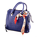 Stylish Blue Ladies Hand Bag at Kapruka Online for specialGifts