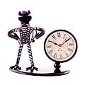 Vintage Iron Musician Table Clock (accordionist) at Kapruka Online for specialGifts