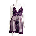 Purple Sexy Night Dress at Kapruka Online for specialGifts