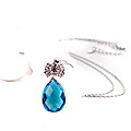 Blue Stone Cystal Neckless at Kapruka Online
