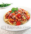 Spaghetti with Chicken and Sausage Large at Kapruka Online