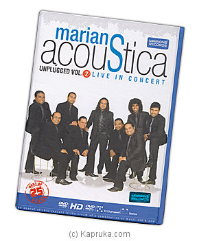 Marians Acoustica Live In Concert at Kapruka Online for video