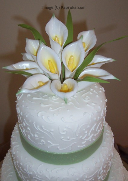 long term reputation of elegance and taste. Kapruka wedding cakes